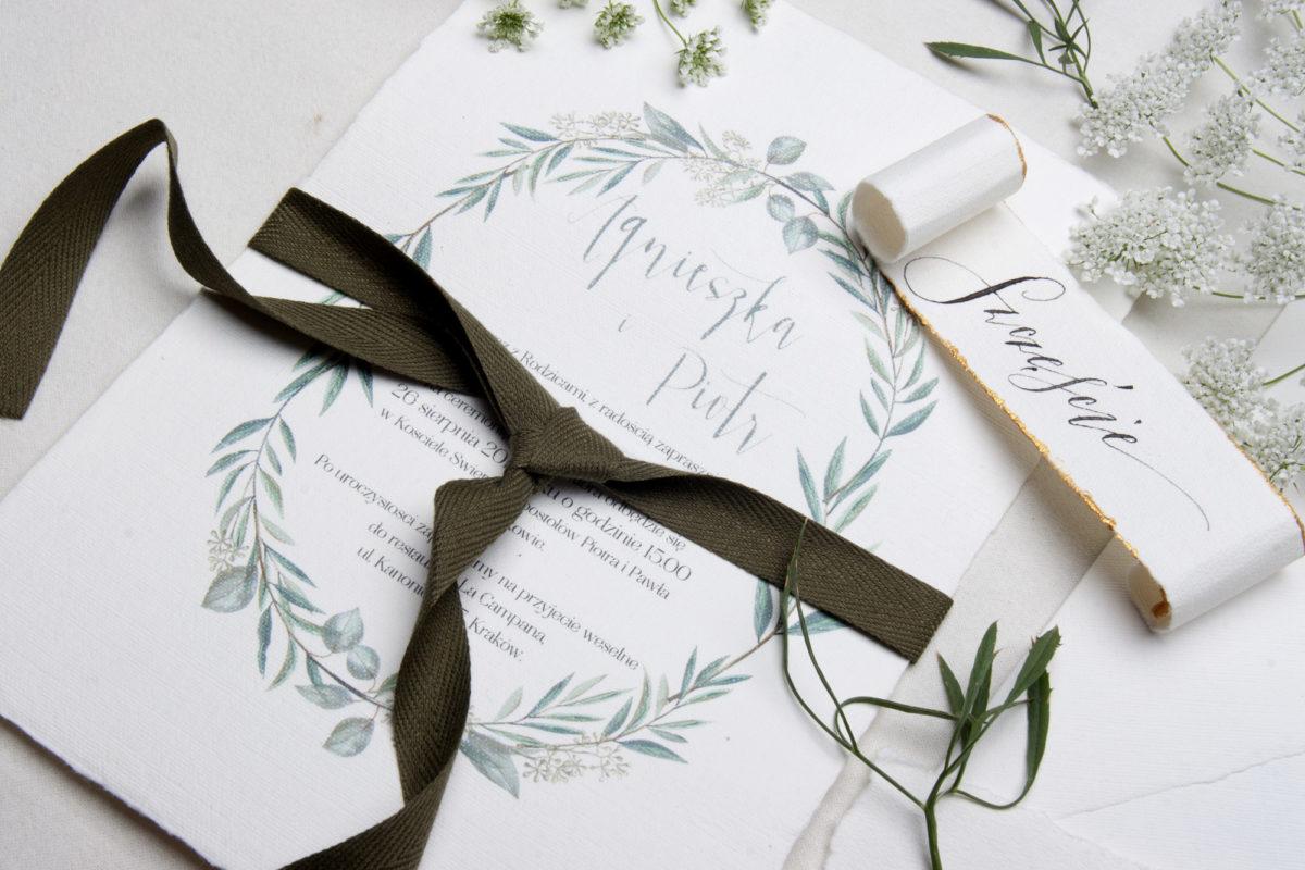 zaproszenia ślubne i akwarele _ wyjątkowe zaproszenia ślubne