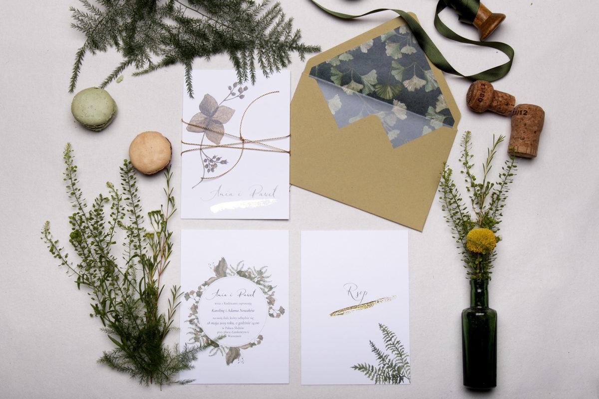 wyjątkowe zaproszenia ślubne_koperty na zaproszenia ślubne