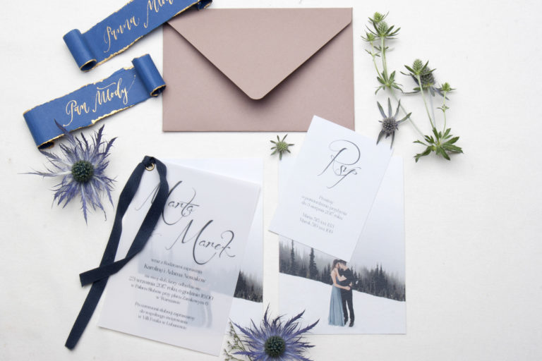 koperty na zaproszenia_nowoczesne zaproszenia ślubne