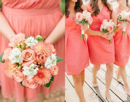 kolor roku - sukienka ślubna