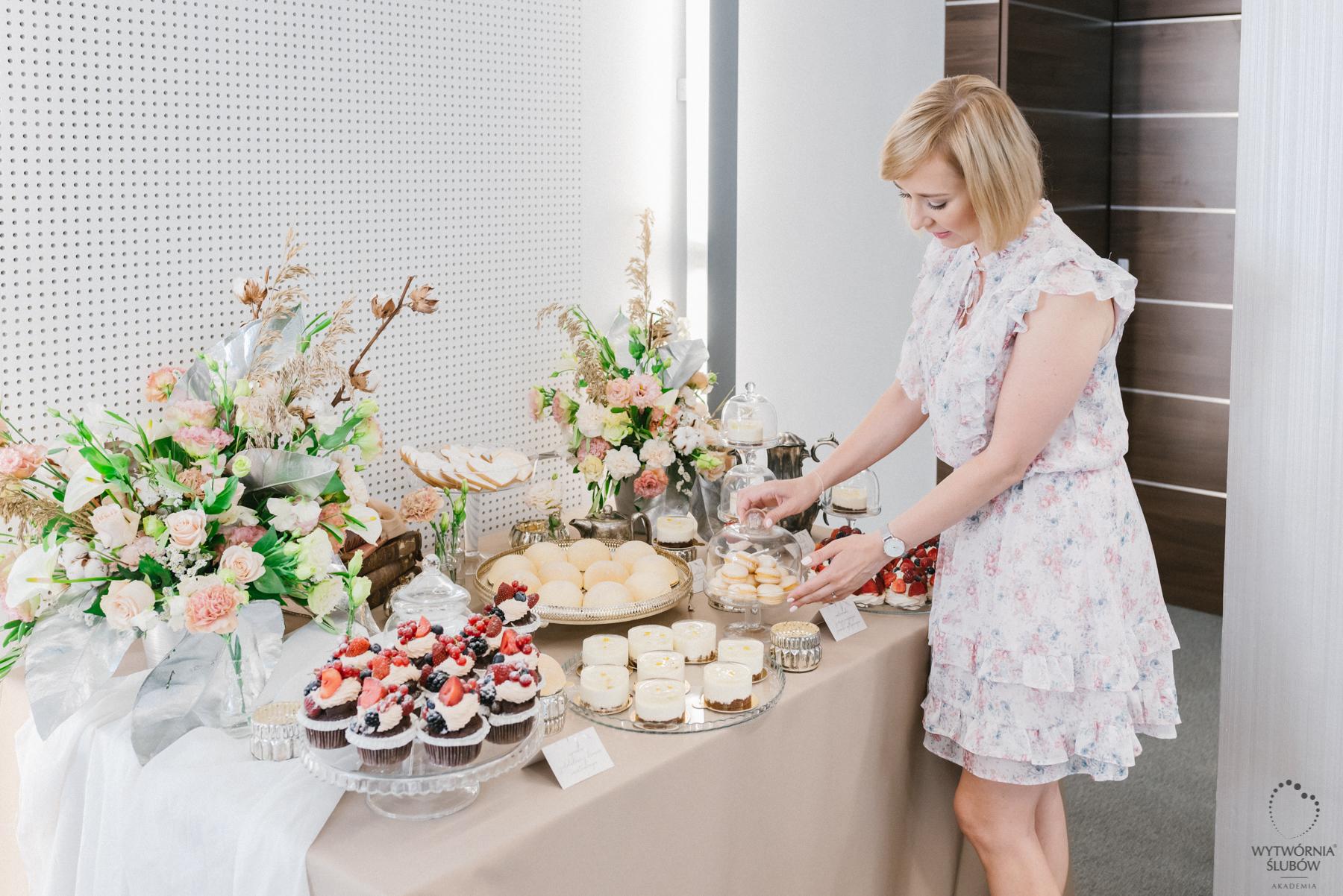 ozdoby stołu - ślubne dekoracje