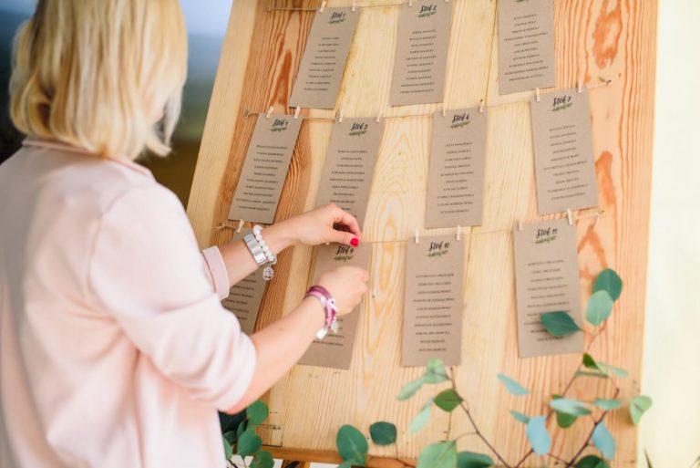 Oryginalny table plan