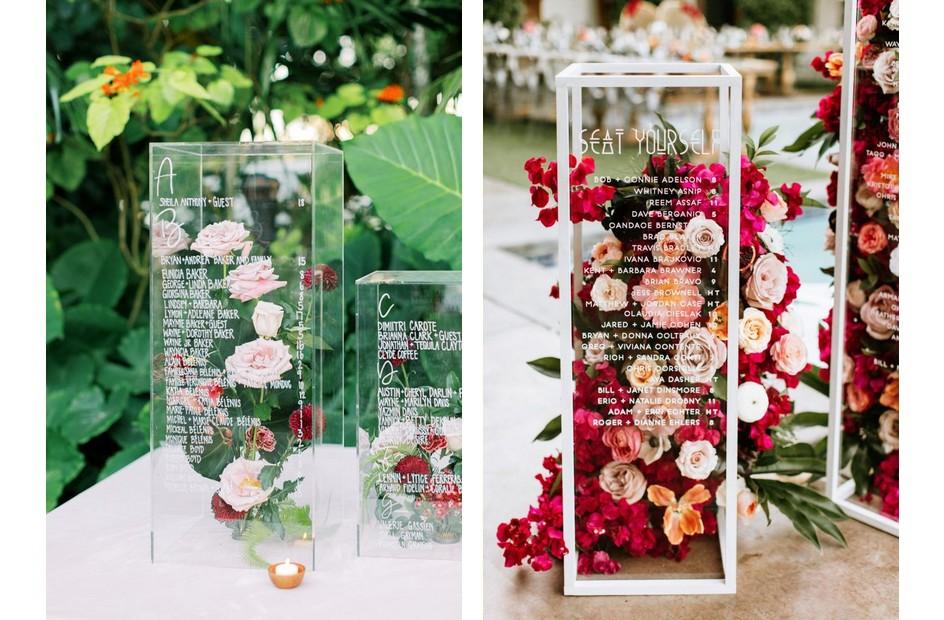 Plan stołów na wesele